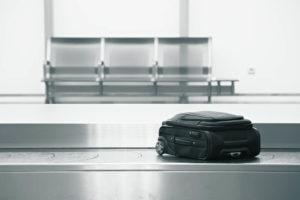 extravio temporário de bagagem