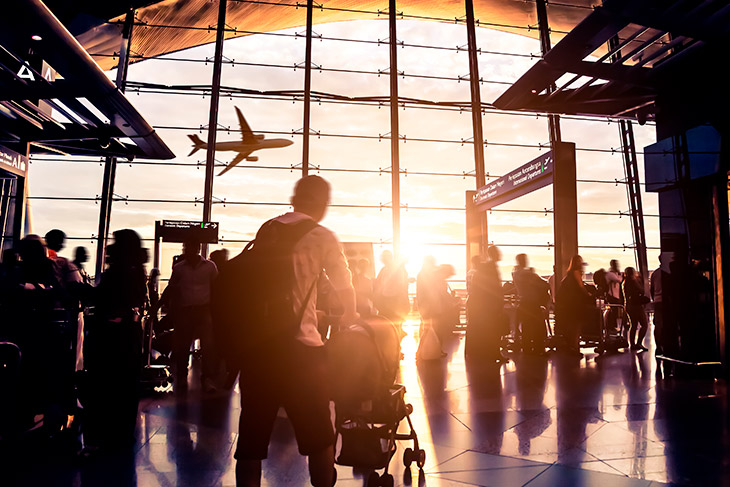 Exemplo real: perda de diária de hotel por voo cancelado