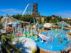 Viajar com crianças ao Beach Park – Aquiraz, CE
