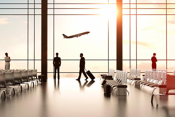 Por que os voos podem atrasar?