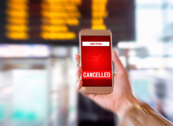 As burocracias da indenização por cancelamento de voo