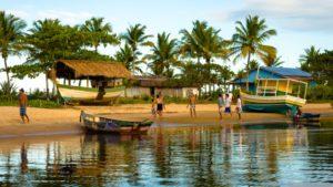 Alta temporada de viagens - Caraíva, Bahia