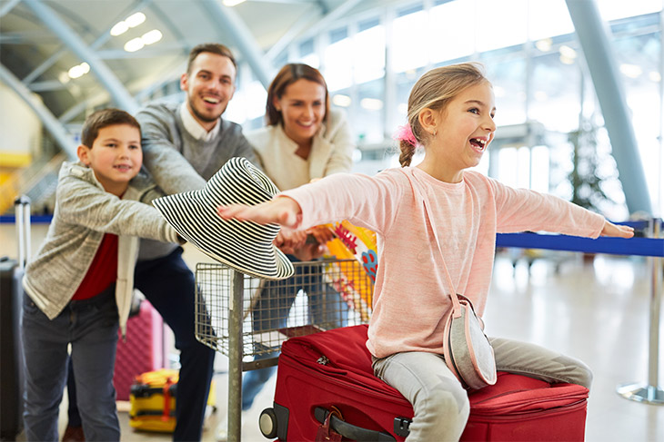 5 dicas de como escolher o voo para viajar com crianças
